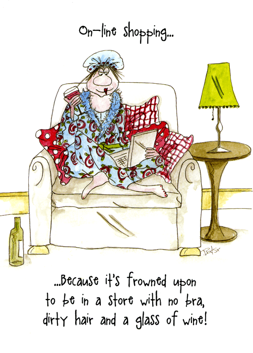 Funny Cards - On-line Shopping