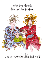 Funny Cards - Been Through Thick And Thin Together