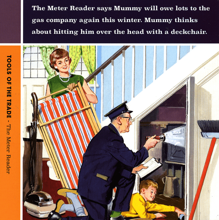 Funny Cards - The Meter Reader
