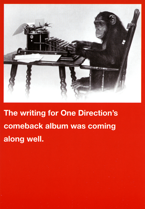 Funny Cards - One Direction's Comeback Album