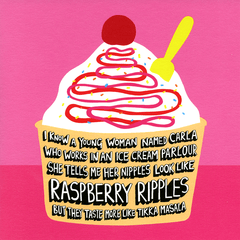 Funny Cards - Raspberry Ripples