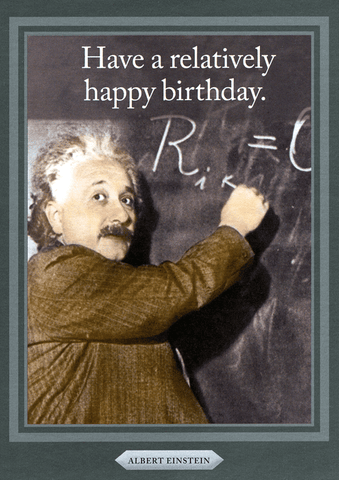 Birthday Card - Have A Relatively Happy Birthday