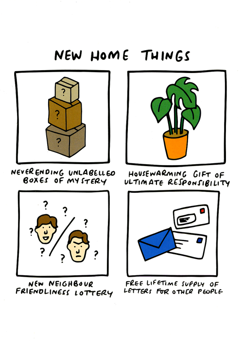 New Home Card - New Home Things