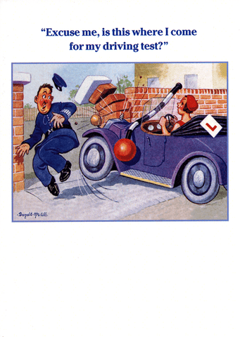 Funny Cards - Driving Test