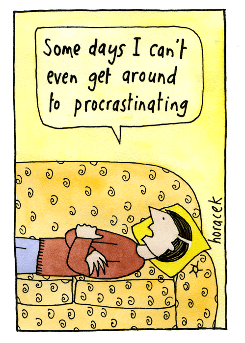 Funny Cards - Can't Even Get Round To Procrastinating