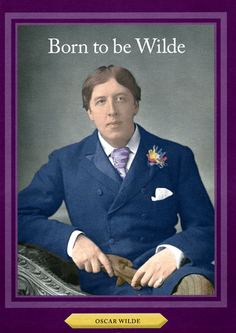 Funny Cards - Born To Be Wilde