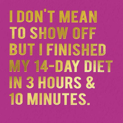 Finished Diet