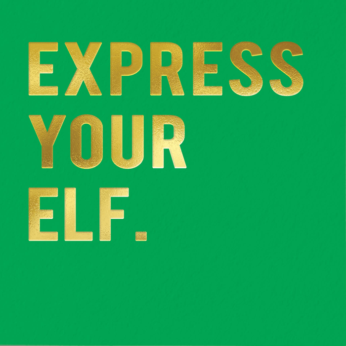 Funny Christmas Cards - Express Your Elf