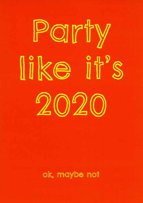 Funny Cards - Party Like It's 2020