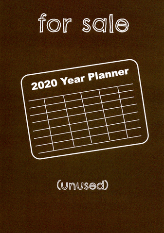 For Sale - 2020 planner