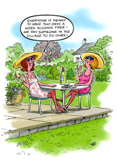 Funny Cards - Alcohol Free Days