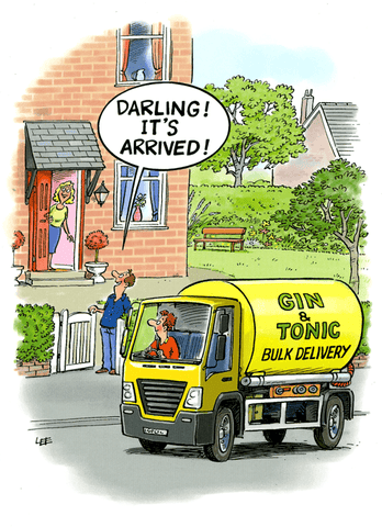 Gin and Tonic bulk delivery