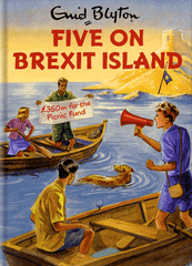 Funny Cards - Five On Brexit Island