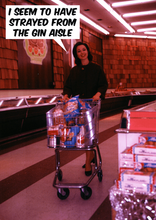 Funny Cards - Strayed From The Gin Aisle