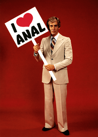 Rude Cards - I Love Anal