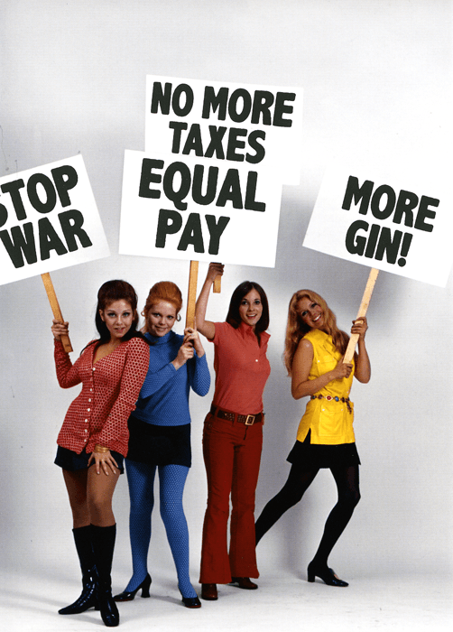 Funny Cards - Equal Pay, More Gin