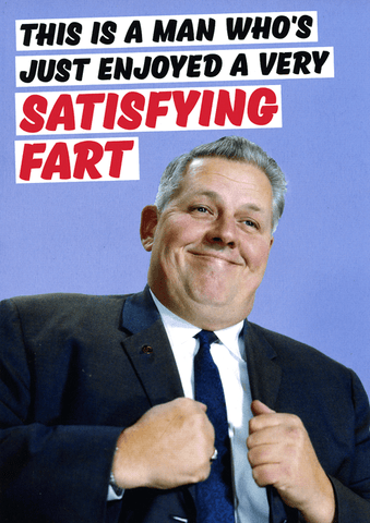 Satisfying fart
