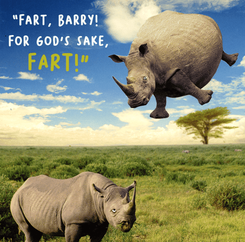 For God's sake, Fart!