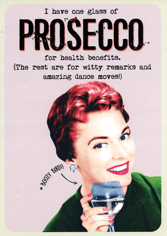Prosecco for health benefits
