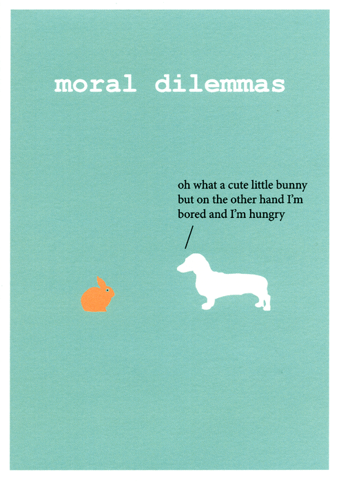 Funny Cards - Moral Dilemmas