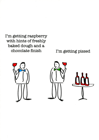 Funny Cards - Getting Raspberry With Hints Of Baked Dough