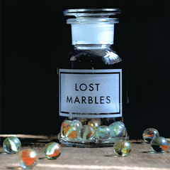 Birthday Card - Lost Marbles