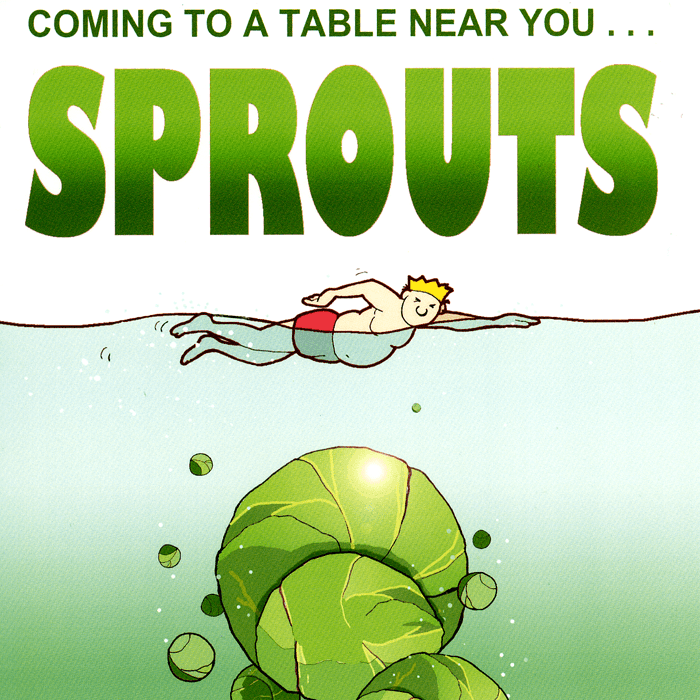 Funny Christmas Cards - Sprouts