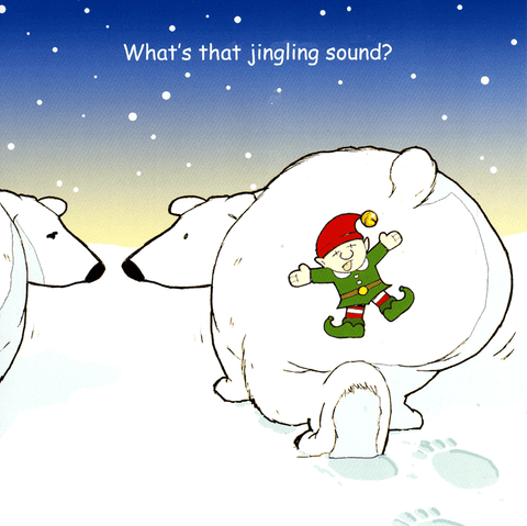 Funny Christmas Cards - What's That Jingling Sound?