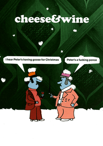 Rude Christmas Cards - Peter's Having A Goose For Christmas