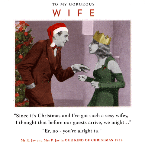 Funny Christmas Cards - Christmas - Such A Sexy Wifey