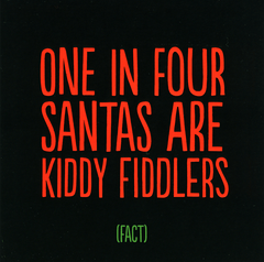 Funny Christmas Cards - One In Four Santas