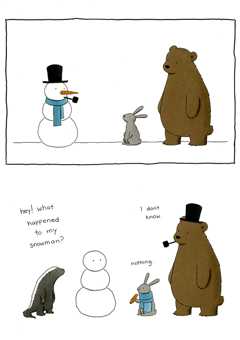 Funny Christmas Cards - What Happened To My Snowman?