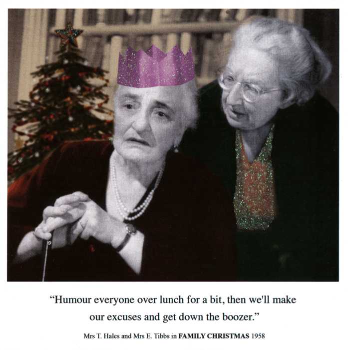 Funny Christmas Cards - Make Our Excuses And Get Down The Boozer