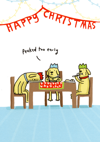 Funny Christmas Cards - Christmas - Peaked Too Early