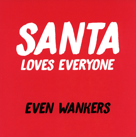 Rude Christmas Cards - Santa Loves Everyone