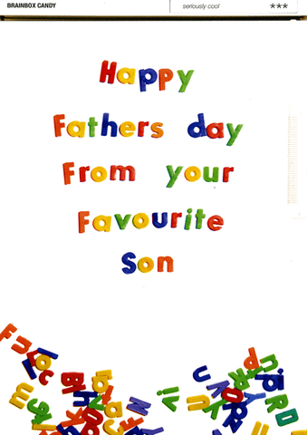 Funny Father's Day Cards - Father's Day - From Favourite Son
