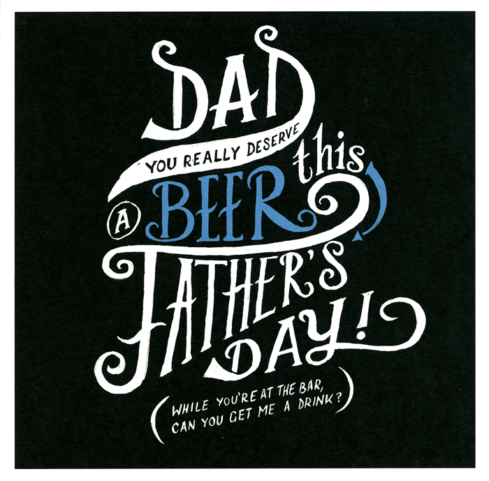Funny Father's Day Cards - Dad You Really Deserve A Beer