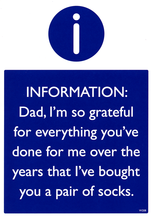 Funny Father's Day Cards - Dad, I'm So Grateful For Everything