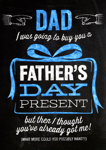 Funny Father's Day Cards - Going To Buy You A Father's Day Present