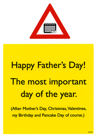 Father's Day - the most important day of the year