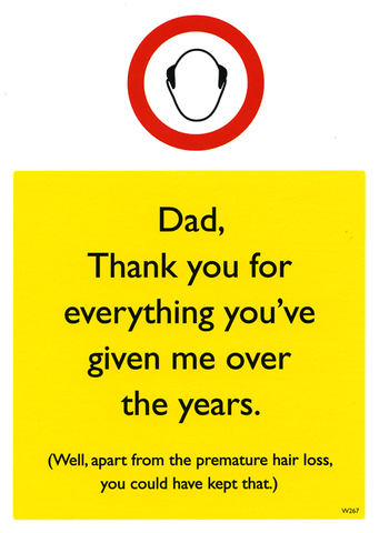 Dad, thank you for everything