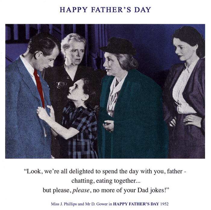 Funny Father's Day Cards - No More Dad Jokes