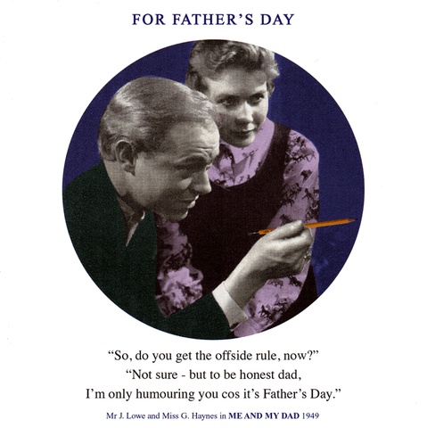 Funny Father's Day Cards - Father's Day - The Offside Rule