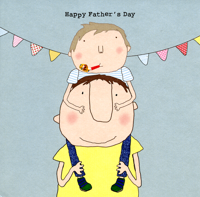 Funny Father's Day Cards - Happy Father's Day (Boy)