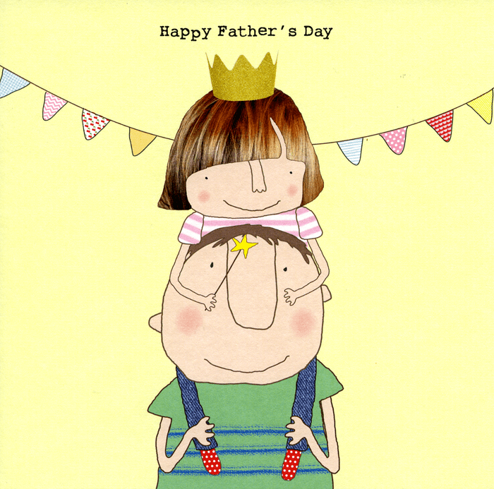 Funny Father's Day Cards - Happy Father's Day (Girl)