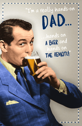 Funny Father's Day Cards - Really Hands-on Dad