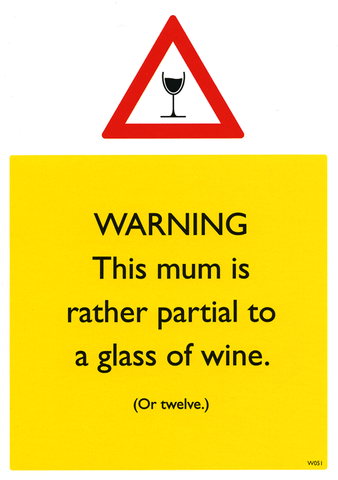 Mother's Day Cards - This Mum Is Rather Partial To Wine