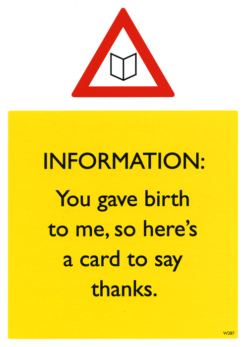 Mother's Day Cards - You Gave Birth To Me