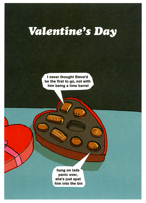 Valentines Cards - Valentine's Day Chocolates
