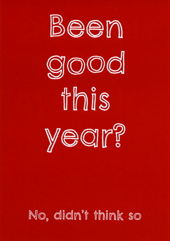 Been good this year?